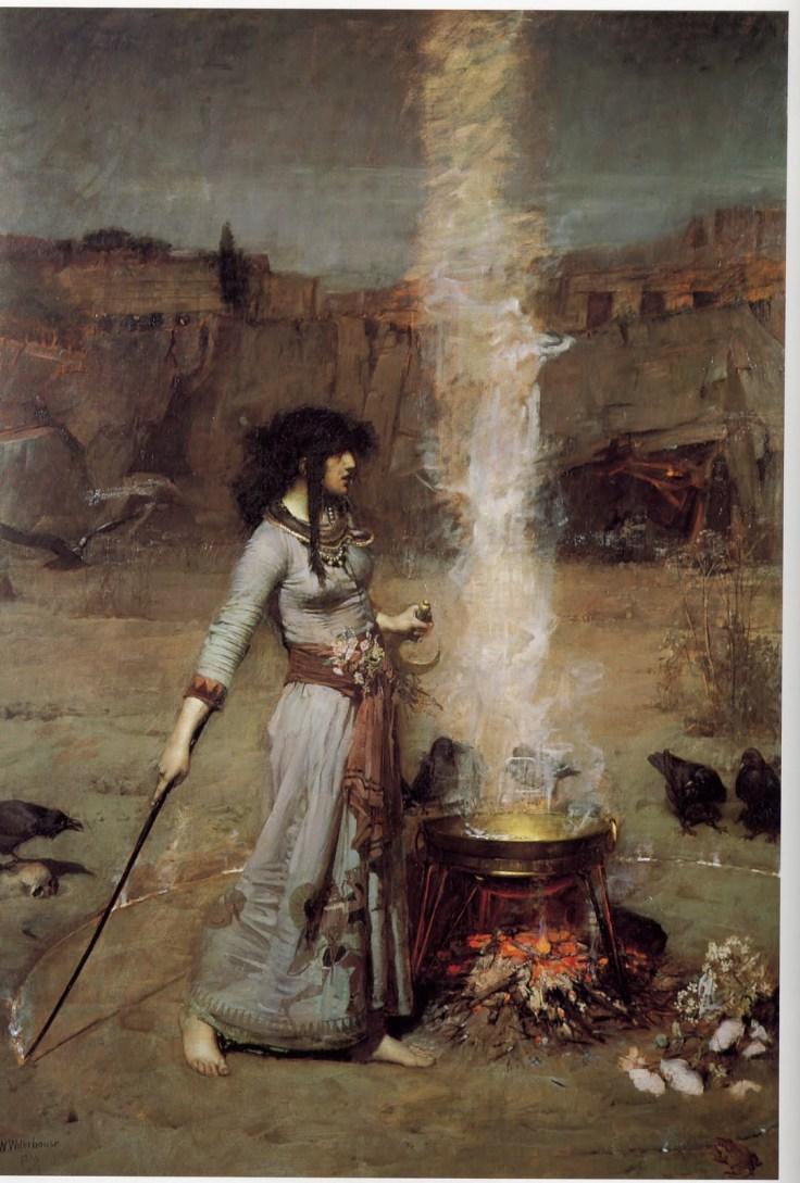 witch cauldron beautiful